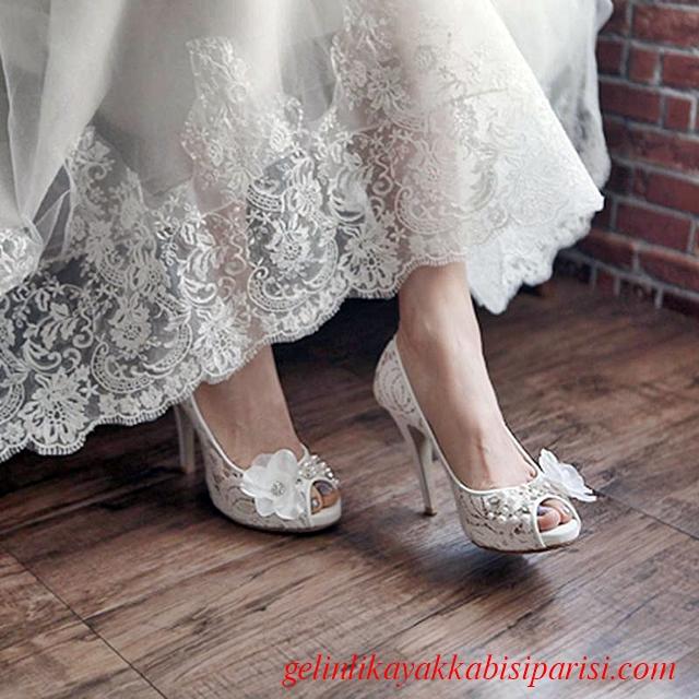 2017 Gelin Ayakkabısı Fiyatları ve Modelleri