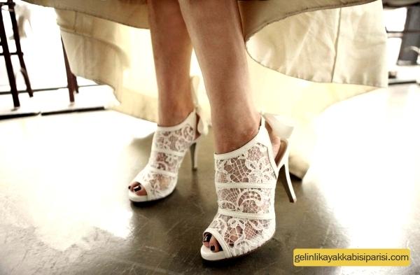 2017 Yeni Moda Gelin Ayakkabısı Modelleri
