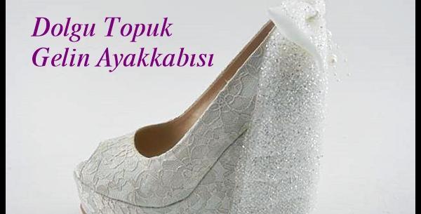 Dolgu Topuk Nikah Ayakkabısı Modelleri
