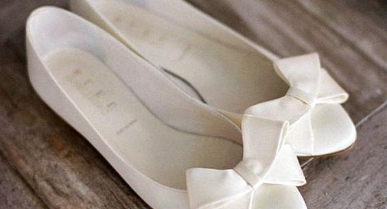 Gelinlik Altına Babet Ayakkabı Modelleri