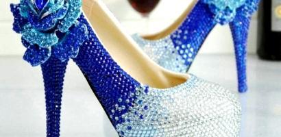 Gösterişli Gelin Ayakkabısı Modelleri 2017