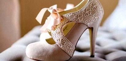 Sade Gelin Ayakkabısı Modelleri 2017