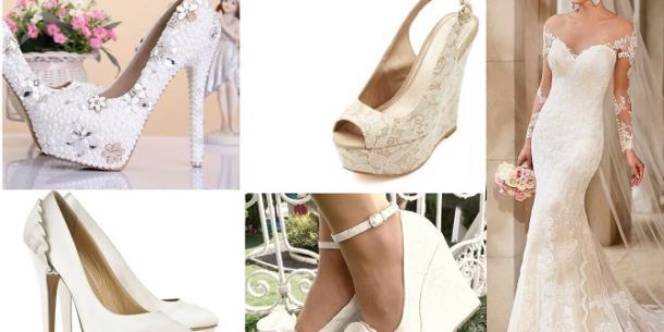 En Popüler Gizli Topuk Gelinlik Ayakkabı Modelleri