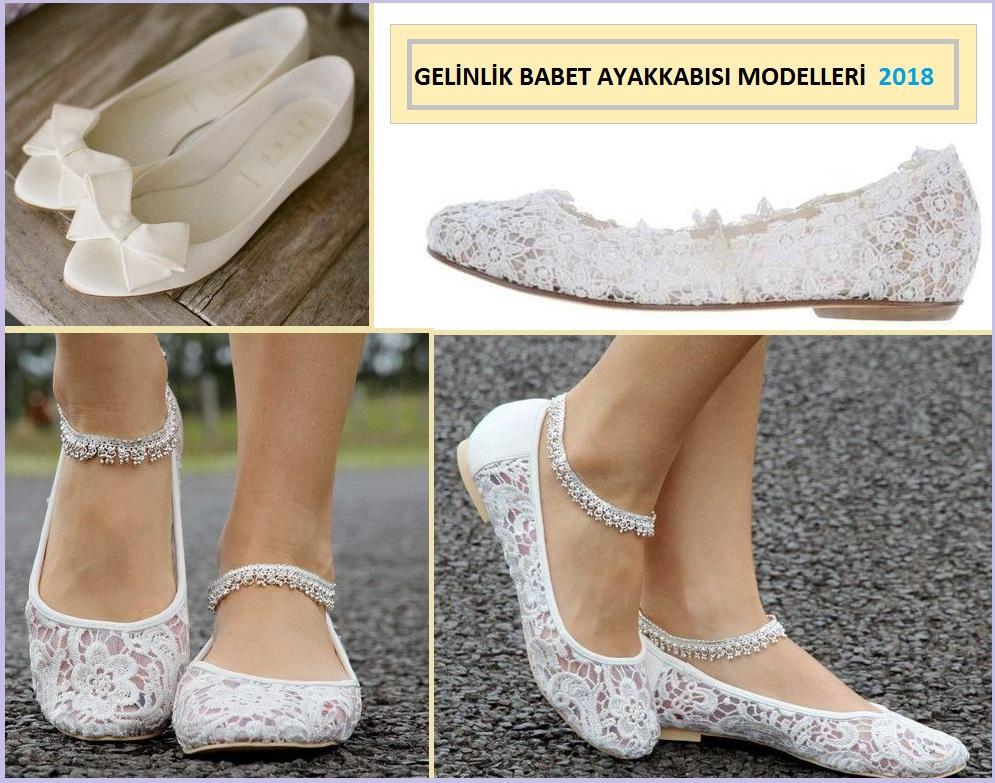 Gelin Babet Ayakkabısı Modelleri 2018