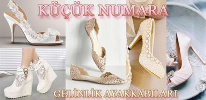 Küçük Numara Gelinlik Ayakkabısı Modelleri