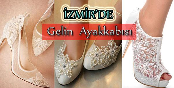 İzmir'de Küçük Numara Gelinlik Ayakkabısı Yaptırma