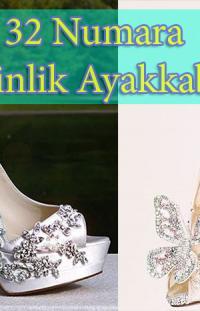 Kadıköy'de 32 Numara Gelinlik Ayakkabısı Yaptırma
