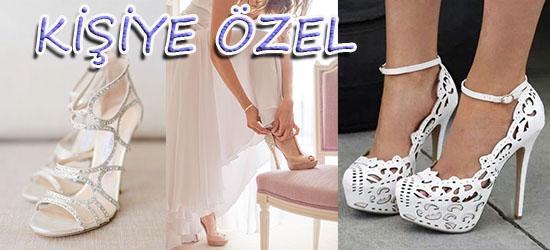 Topuklu Gelinlik Ayakkabısı Yaptırma