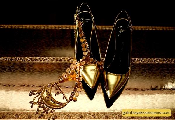 Özel Kına Ayakkabısı Modelleri