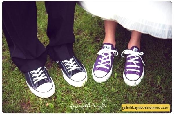 Converse Gelin/Damat Ayakkabısı Modelleri 2017