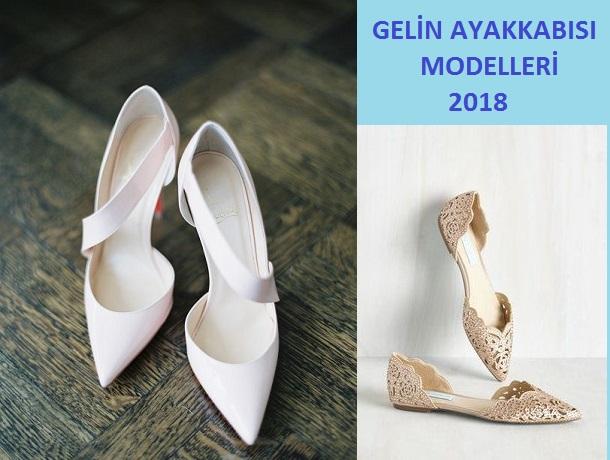 Gelinlik Ayakkabı Modelleri 2018