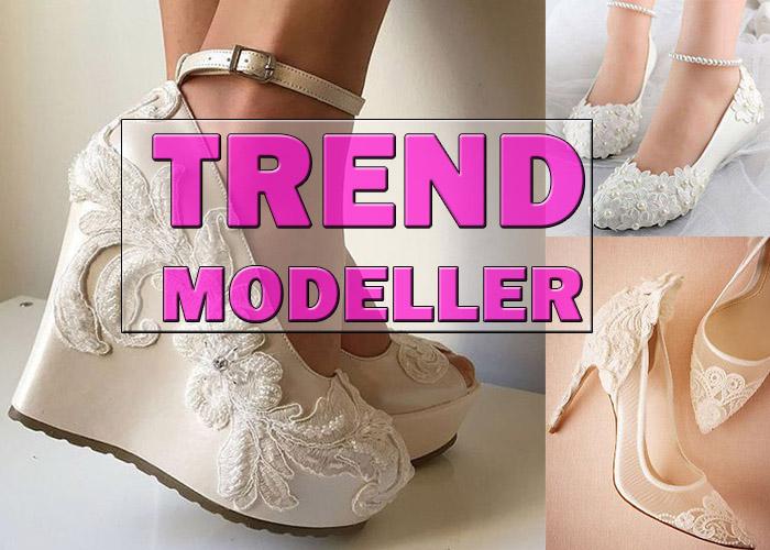 En Çok İlgi Gören Gelinlik Ayakkabısı Modelleri