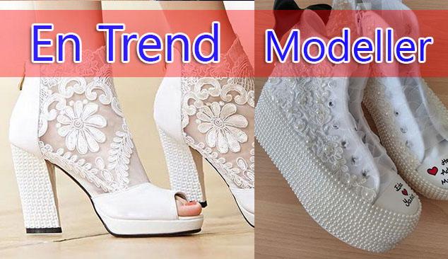 Çok Satılan Gelinlik Ayakkabı Modelleri