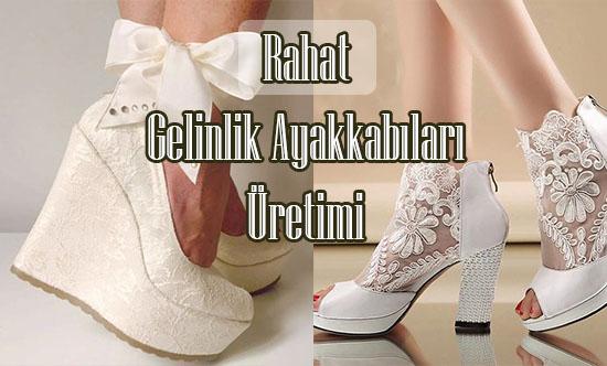 Rahat Gelinlik Ayakkabısı Üretimi