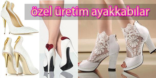 Özel Üretim Gelinlik Ayakkabı Siparişi