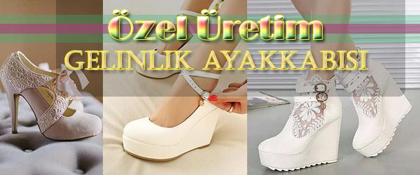 Küçük Numara Gelinlik Ayakkabısı Siparişi