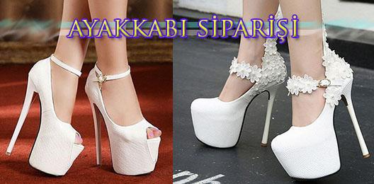 Platform Topuk Ayakkabı Sipariş İstanbul